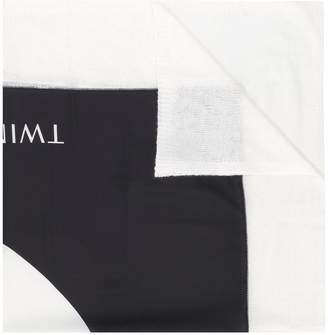 Twin-Set logo scarf