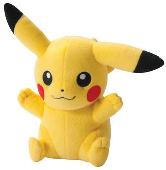 Pokemon Happy Pose Pikachu 8 Inch Plush