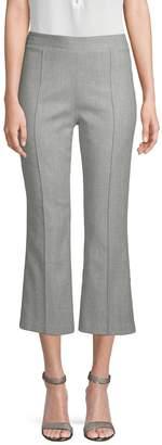 Alice + Olivia Women's Wool-Blend Crop Trousers