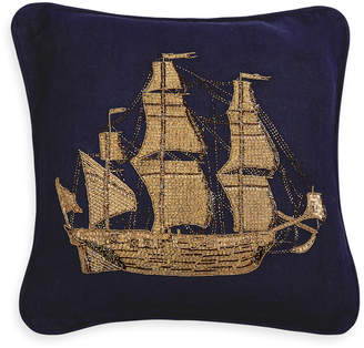 Jonathan Adler Aquatica Ship Throw Pillow