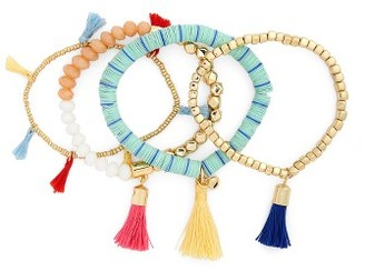 Women's Baublebar Riley Set Of 4 Bracelets $58 thestylecure.com
