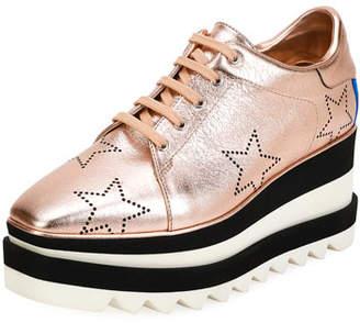 Stella McCartney Sneakelyse Stars Platform Sneakers