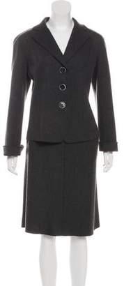 Lafayette 148 Wool Skirt Set