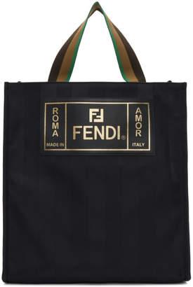 Fendi Black Small Market Tote