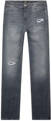 7 For All Mankind Ronnie Skinny Luxe Performance Jeans