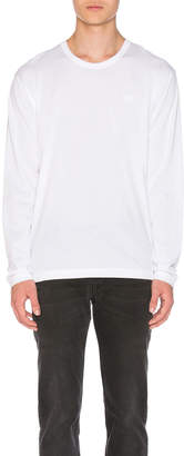 Acne Studios Nash Face Long Sleeve Tee