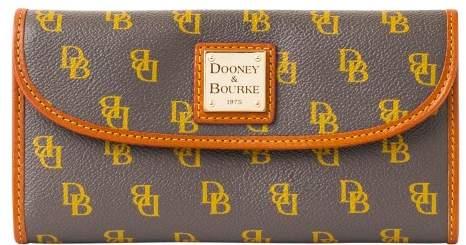 Dooney & Bourke Gretta Continental Clutch Wallet - CHARCOAL - STYLE