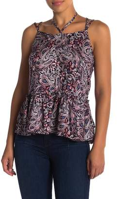 William Rast Thea Strappy Floral Top