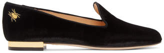Charlotte Olympia Black Nocturnal Loafers