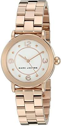 Marc Jacobs Women's Riley Rose Gold-Tone Watch - MJ3474