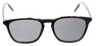 Tomas Maier Square Tinted Sunglasses