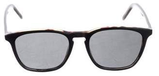 Tomas Maier Square Tinted Sunglasses