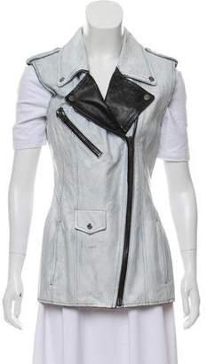 Maison Margiela Painted Leather Vest