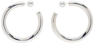Sophie Buhai Silver Medium Everyday Hoop Earrings