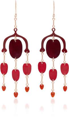 Evans Sian Gynoecium Earrings