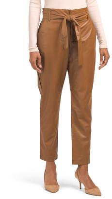 Faux Leather Soft Pants
