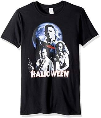 American Classics Halloween The Movie Ensemble Adult Short Sleeve T-Shirt