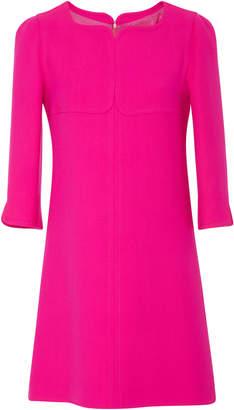 Courreges Swallows Wool Mini Dress
