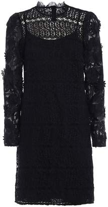 Michael Kors See-through Lace Tunic Dress