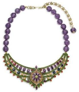 Heidi Daus Beaded Crystal Statement Necklace