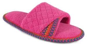Muk Luks Quilted Slide Slippers