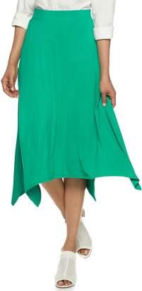 Dana Buchman Women's Sharkbite Skirt