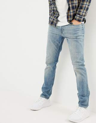 Esprit Organic Slim Fit Jeans With Abrasions