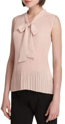 Donna Karan Ribbed Sleeveless Top