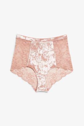 14cb4ca684 High Waist Lace Knickers - ShopStyle UK