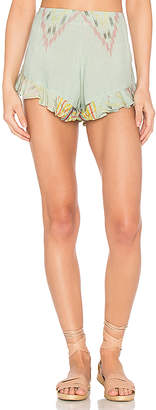 Cleobella Marcelle Shorts in Green $96 thestylecure.com