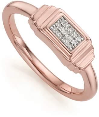 Monica Vinader Baja Deco Diamond Ring