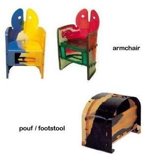 Nobody's Armchair By Gaetano Pesce