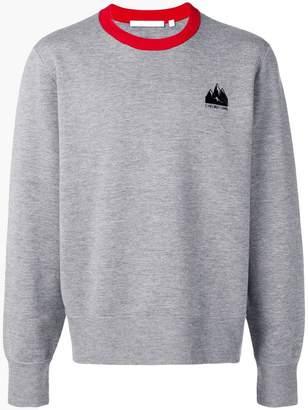 Helmut Lang mountain logo sweatshirt