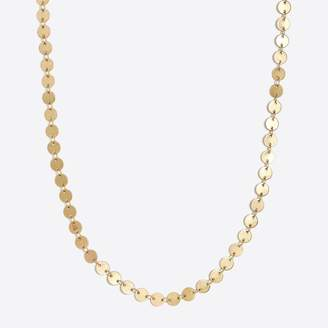 J.Crew Factory Golden disc choker