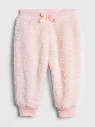 Gap Faux-Fur Pull-On Pants