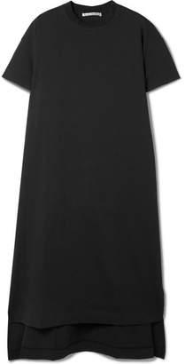 Acne Studios Patri Asymmetric Cotton-jersey Tunic - Black