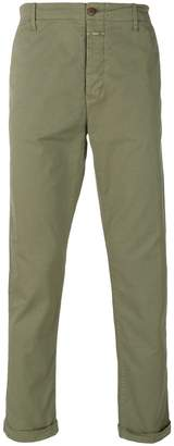 Closed stretch chinos