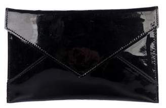 Tiffany & Co. Patent Leather Flap Pouch