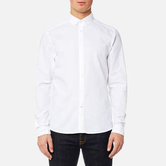 Calvin Klein Men's Gallen Washed Oxford Shirt