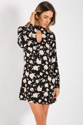 Elan International Key Hole Dress