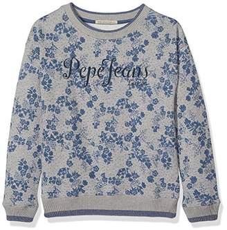 Pepe Jeans Girl's Pg580625 Sweatshirt,(Manufacturer Size: 16)