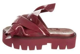 No.21 No. 21 Rubber Slide Sandals w/ Tags