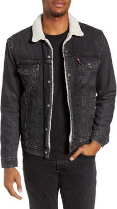 Levi's Type 3 Faux Fur Lined Trucker Jacket
