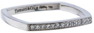 Tiffany & Co. Diamond Torque Ring $595 thestylecure.com