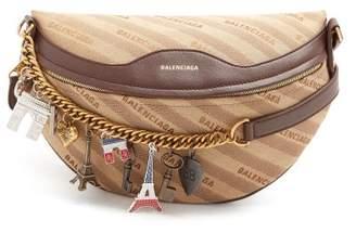 Balenciaga Souvenir Bag Xs - Womens - Beige