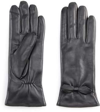 Apt. 9 Women's Leather Tech Gloves