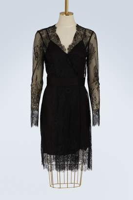Diane von Furstenberg Short lace dress