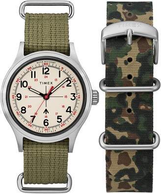 Todd Snyder Timex(R) x The Military NATO Strap Watch Set, 40mm