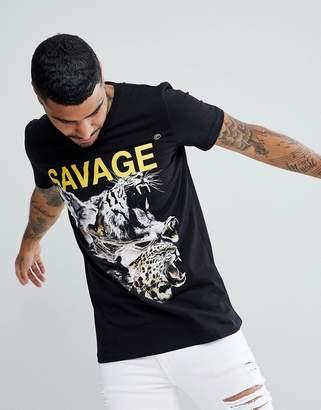 Criminal Damage Muscle Savage T-Shirt