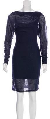 Elizabeth and James Wool-Blend Dress